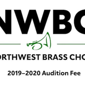 Northwest Brass Choir (NWBC) 2019-2020 Audition Fee ($35)