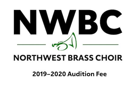 Northwest Brass Choir (NWBC) 2019-2020 Audition Fee ($35)